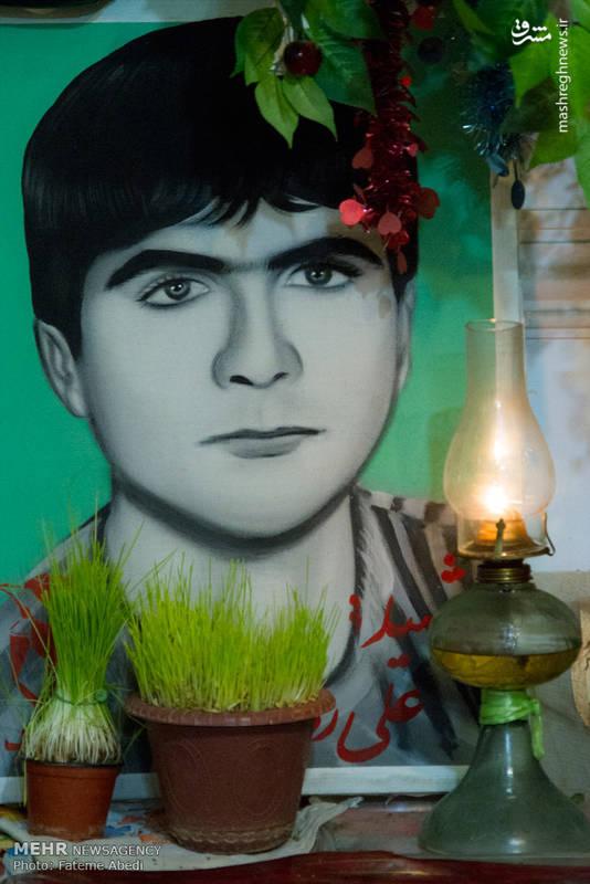 علی اصغر در سنِ ۱۸ سالگی در عملیاتِ کربلای ۵ در شلمچه به شهادت میرسد.
