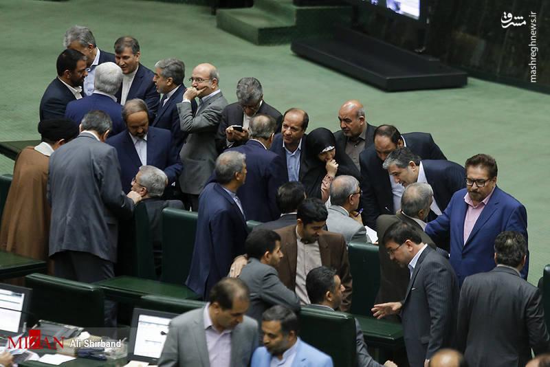 جلسه استیضاح وزیر کار