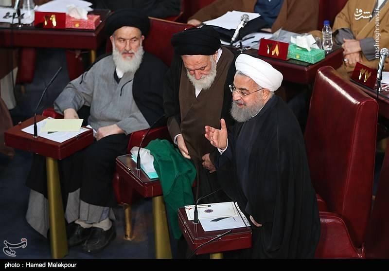 حسن روحانی در چهارمین اجلاسیه خبرگان رهبری