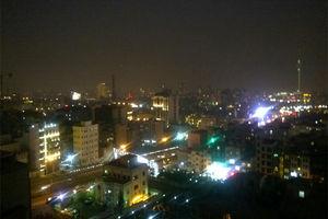 فیلم/ تصاویر هوایی از چهارشنبه سوری در تهران!
