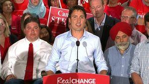 فیلم/ جنجال در سخنرانی نخست وزیر کانادا
