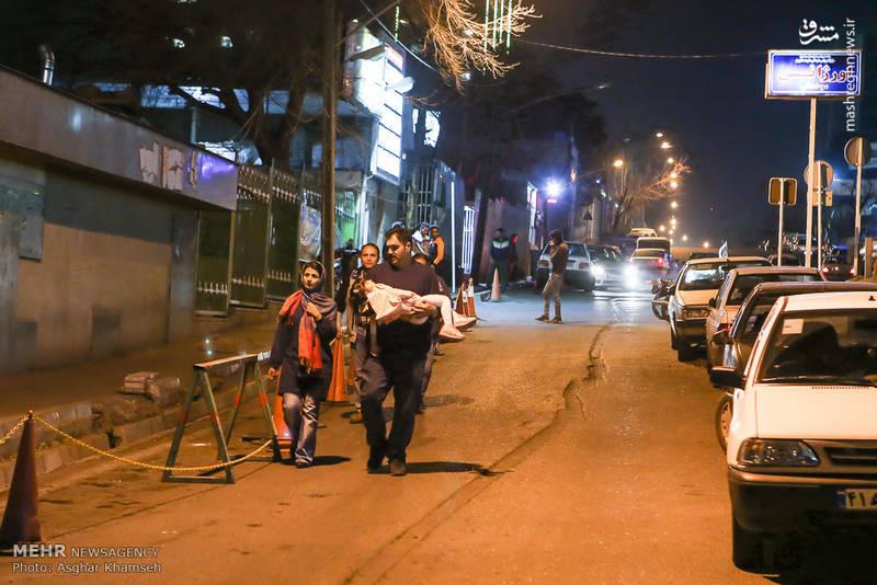 کودکان و عابران بسیاری نیز از حوادث چهارشنبه آخر مجروح شدند