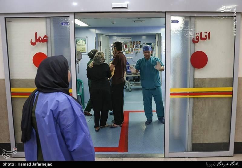 اتاق عمل بیمارستان ۱۵ خرداد