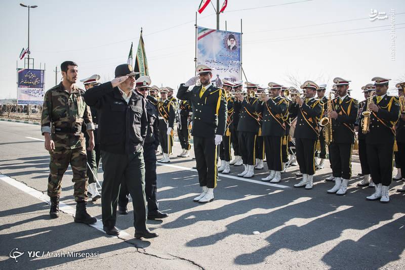 سردار حسین اشتری-فرمانده نیروی انتظامی