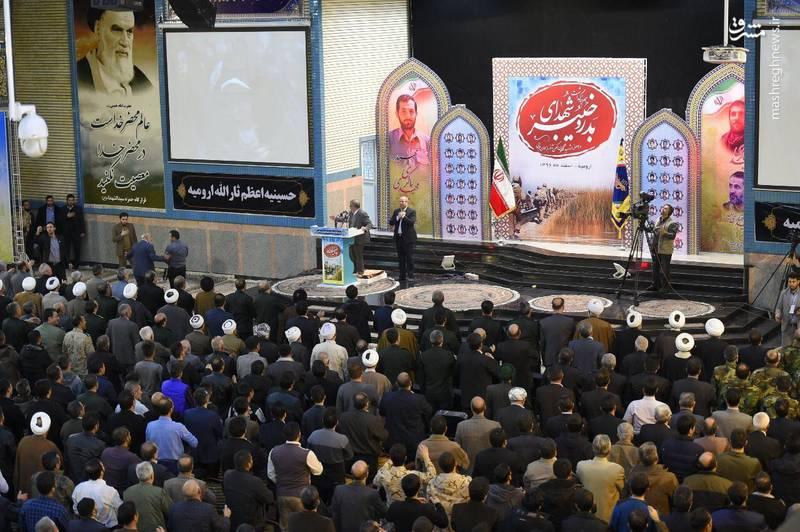 در مراسم گرامیداشت شهدای بدر و خیبر در شهرستان ارومیه مطرح شد؛ نظرات جدید قالیباف درباره جنگ و دههشصتیها
