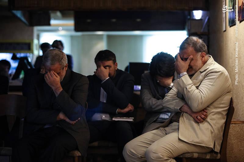 چهلمین روز درگذشت رضا مقدسی