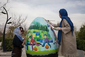عکس/ تخممرغها مهمان تهران شدند