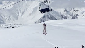 حادثه در پیست اسکی