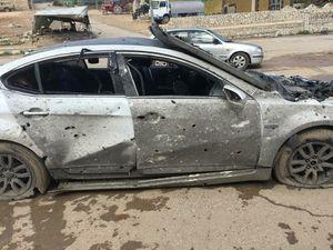 عکس/ حمله به شهروندان در حال فرار از عفرین