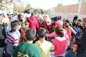 عکس/ مردمِ خارج شده از غوطه شرقی به کجا میروند؟