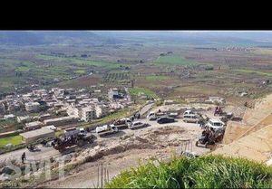 عکس/ کوچ ده ها هزار نفری از عفرین