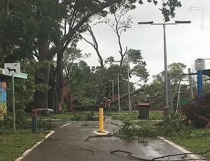فیلم/ وقوع طوفان مارکوس در استرالیا
