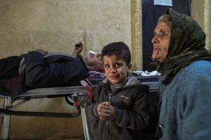 تلفات حمله ترکیه به آوارگان عفرین - سوریه