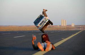 عکس/ تفریح عجیب بچهپولدارهای سعودی