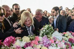 عکس/ تشییع جنازه قربانیان سقوط هواپیمای ترک