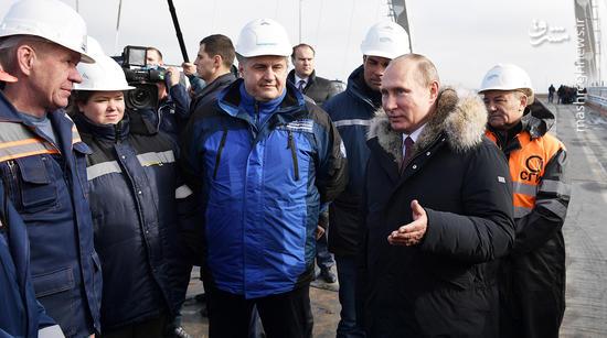 عکس/ سفر پوتین به کریمه