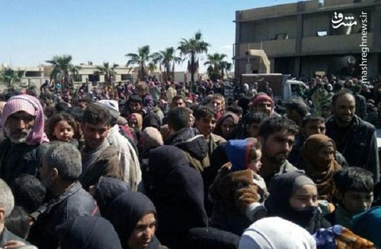 خروج بیش از 17 هزار نفر از غوطه شرقی