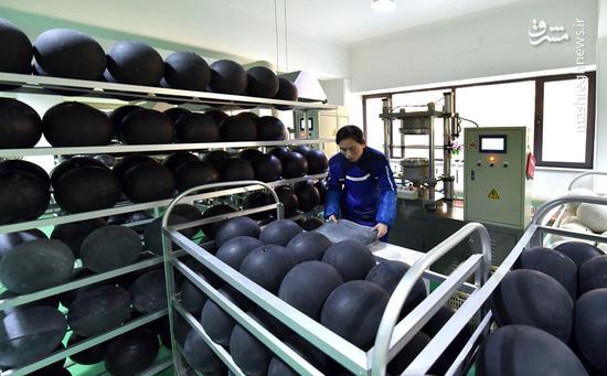 کارخانه توپ سازی در کره شمالی