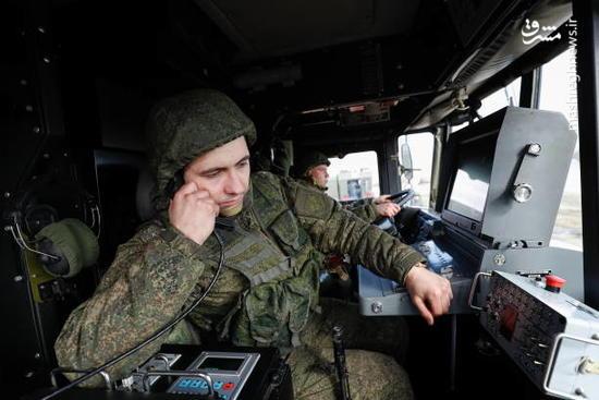 تمرین ارتش یگان ساحلی روسیه