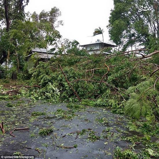 طوفان مناطقي از استراليا را در نورديد