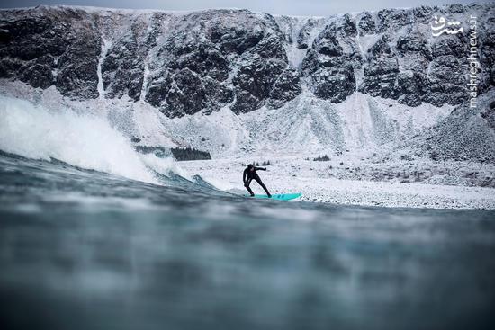 موج سواری در یخبندان
