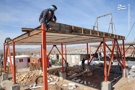 خدمات بنیاد مسکن در مناطق زلزله زده کرمانشاه