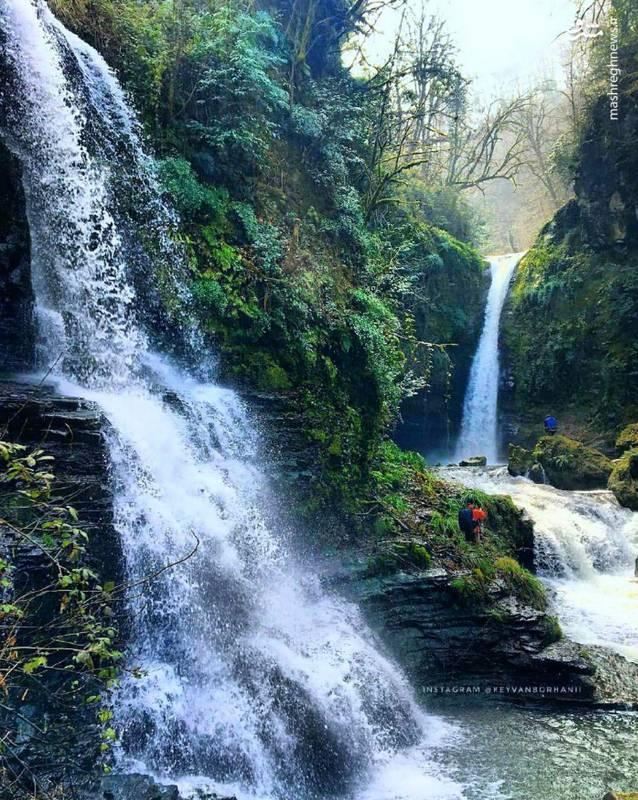 آبشار زمرد حویق