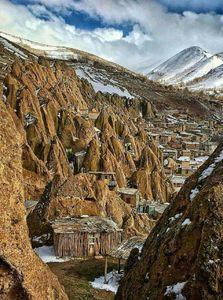 عکس/ روستایی زیبا در آذربایجان شرقی