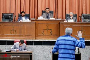 عکس/سومین جلسه دادگاه جنایتکار خیابان پاسداران