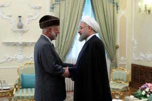 """عکس/ دیدار """"یوسف بن علوی"""" با روحانی"""