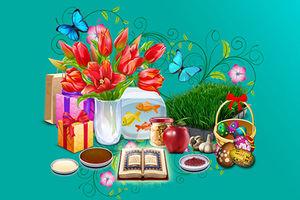 موشن گرافیک/ حال و هوای عید و بازدیدهای نوروزی