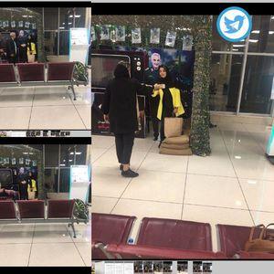 عکس یادگاری با سردار سلیمانی در فرودگاه مهرآباد