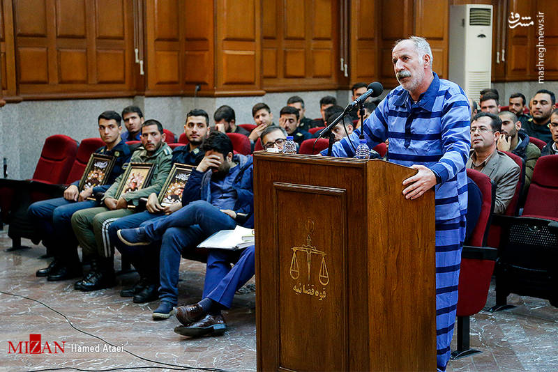 محمد ثلاث راننده اتوبوس جنایتکار خیابان پاسداران