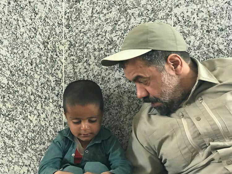 حضور مداح معروف در اردو جهادی، شهرستان نهبندان استان خراسان جنوبی