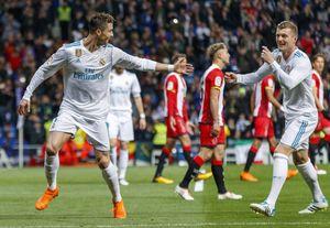 رئال مادرید و خیرونا - رونالدو
