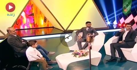 فیلم/چالش محسن مسلمان و هادی حجازی فر در تلویزیون