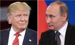 پوتین با تلگراف، تولد ترامپ را تبریک گفت