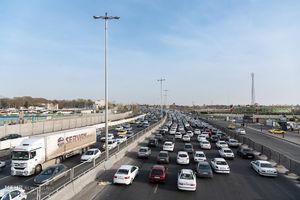 عکس/ ترافیک در محورهای استان البرز