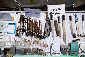 عکس/ سلاح کشف شده از موادفروشان تهرانی