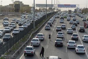 وضعیت ترافیک عصرگاهی جاده های کشور