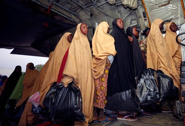 آزادی دختران نیجریهای ربوده شده توسط بوکوحرام