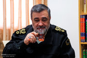 دیدار فرمانده نیروی انتظامی با مراجع عظام