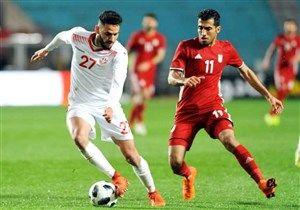 تونس 1 - ایران صفر