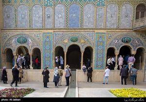 عکس/ کاخ گلستان در ایام نوروز