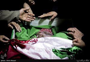 عکس/ مراسم وداع با پیکر پاسدار شهید محمد امرایی