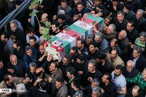 پیکر شهید مدافع حرم در مشهد تشییع شد