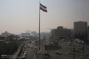 گرد و غبار به تهران رسید