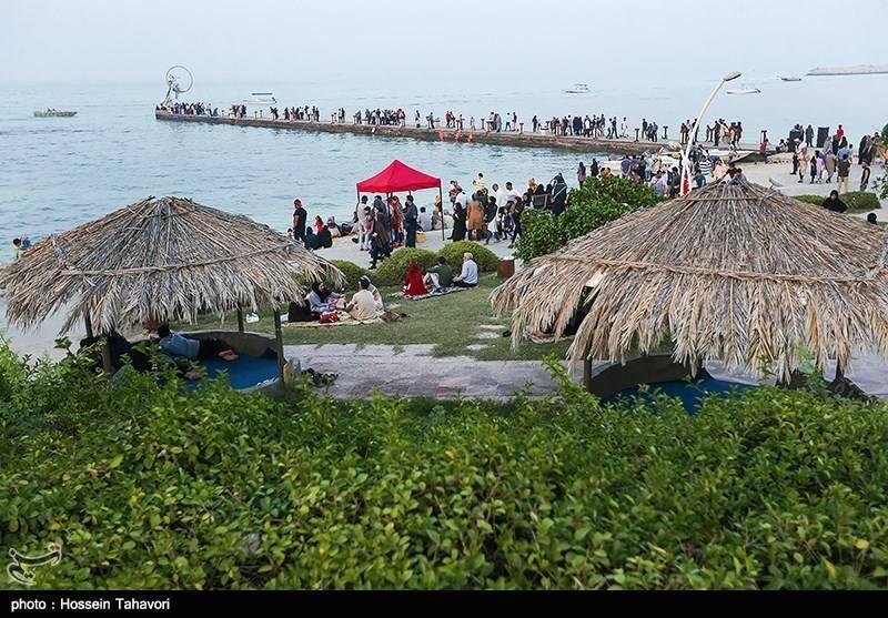 گردشگران نوروزی در کیش