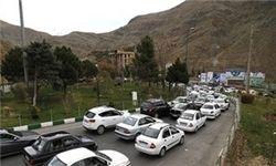 وضعیت ترافیکی جادههای کشور