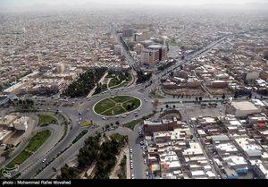 عکس/ تصاویر هوایی شهر قم در ایام نوروز